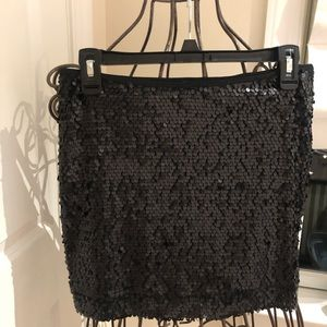 Express sequined mini skirt. Never worn. Perfect